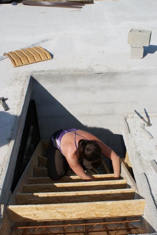 Ferraillage de l'escalier by Marie