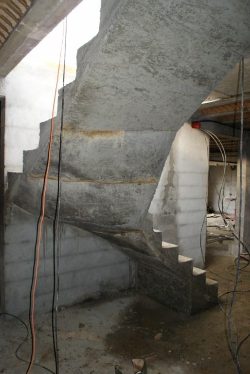 Escalier démoulé