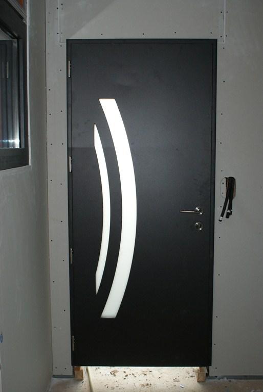 Porte d'entrée, vue intérieure